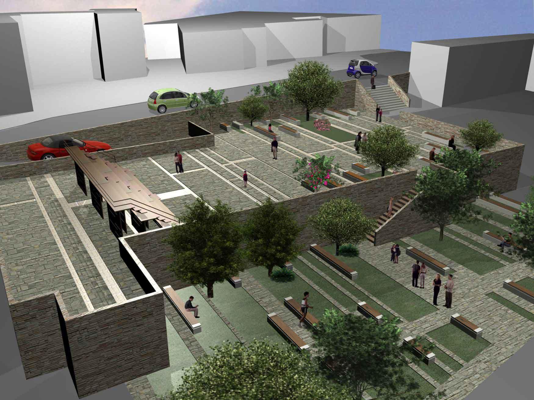 Largo san petrillo salerno studio de pascale associati for 2 box auto gratuiti con piani di appartamenti